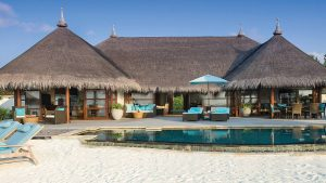 Royal Beach Villa im Luxusresort Four Seasons Kuda Huraa