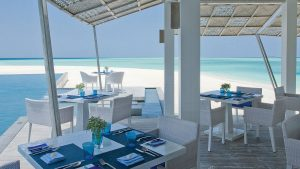 Restaurant Blu im Four Seasons Landaa Giraavaru