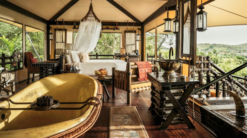 Luxus-Zeltcamp Four Seasons Tented Camp Golden Triangle