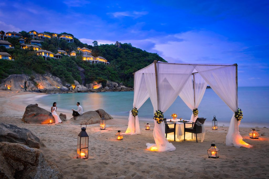 Destination Wedding & Honeymooner-Specials – Banyan Tree Samui Beach